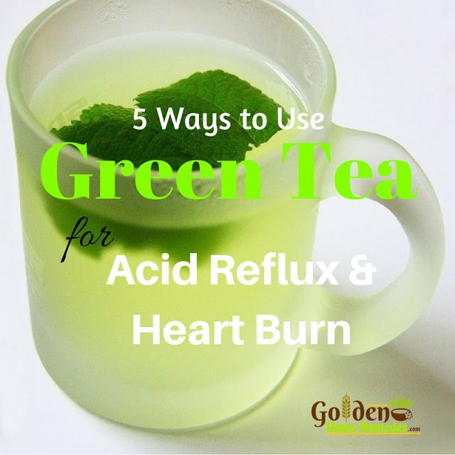 Green Tea For Acid Reflux - Home Remedies For Acid Reflux