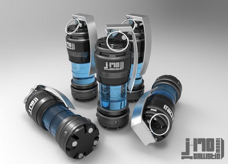 [J-170] Grenade Design , Jarlan Perez