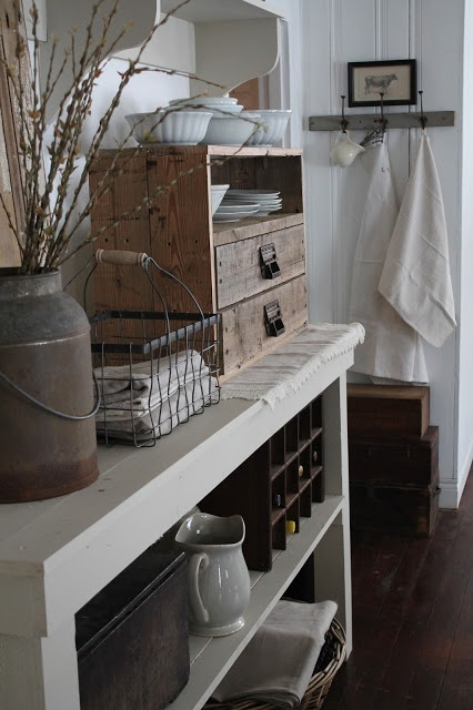 This blog has some great design ideas, love the farmhouse look.