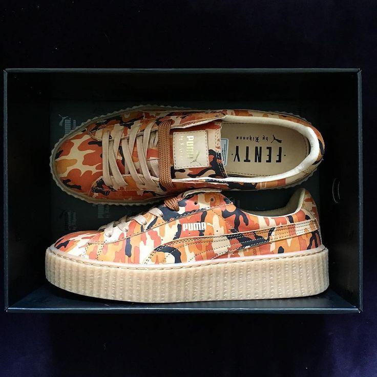 Sneakers femme - Puma Creepers Camo Rihanna (©officialjdunn's)