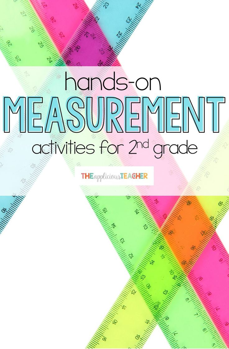 measurement activities and lesson plans for second grade. So many hands on and engaging activities and ideas!