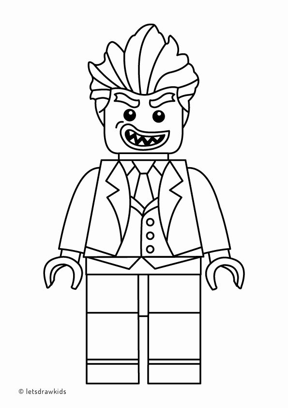 Lego Batman Coloring Book New Coloring Page For Kids Lego Joker From The Lego Batman In 2020 Lego Coloring Pages Lego Coloring Batman Coloring Pages