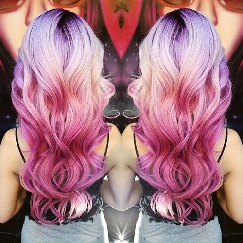awesome 20 Luscious Rosa Ombre Frisuren