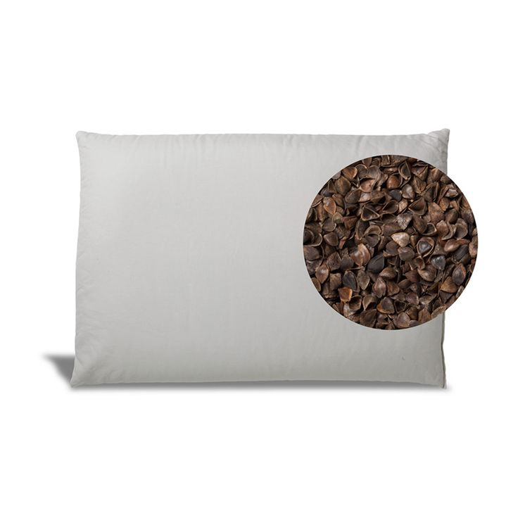 Buckwheat Pillow 100% Organic Filling AND Case Made in the USA