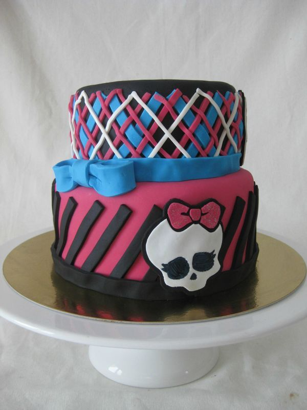 Gâteau Monster High - Monster High Cake