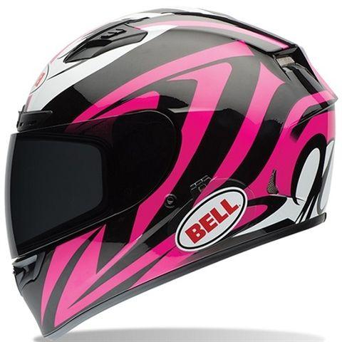 Bell Qualifier DLX Impusle Pink Motorcycle Helmet - Motorcycles508