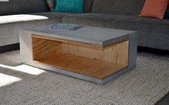 Tv Tisch Und Sthle Zeitgenssische Wohnzimmer Mbel Aus Beton Stuhl Bank Einfache Heimwerkerprojekte Holzarbeiten Plne Diy