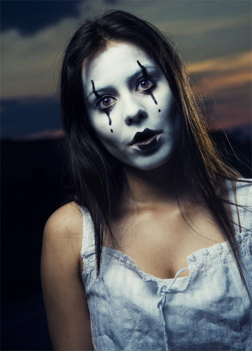mimes makeup mime makeuphalloween - Mime For Halloween