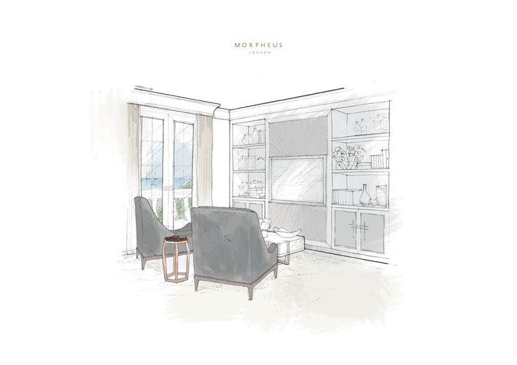 Master Bedroom, Villa la Vague - Morpheus London