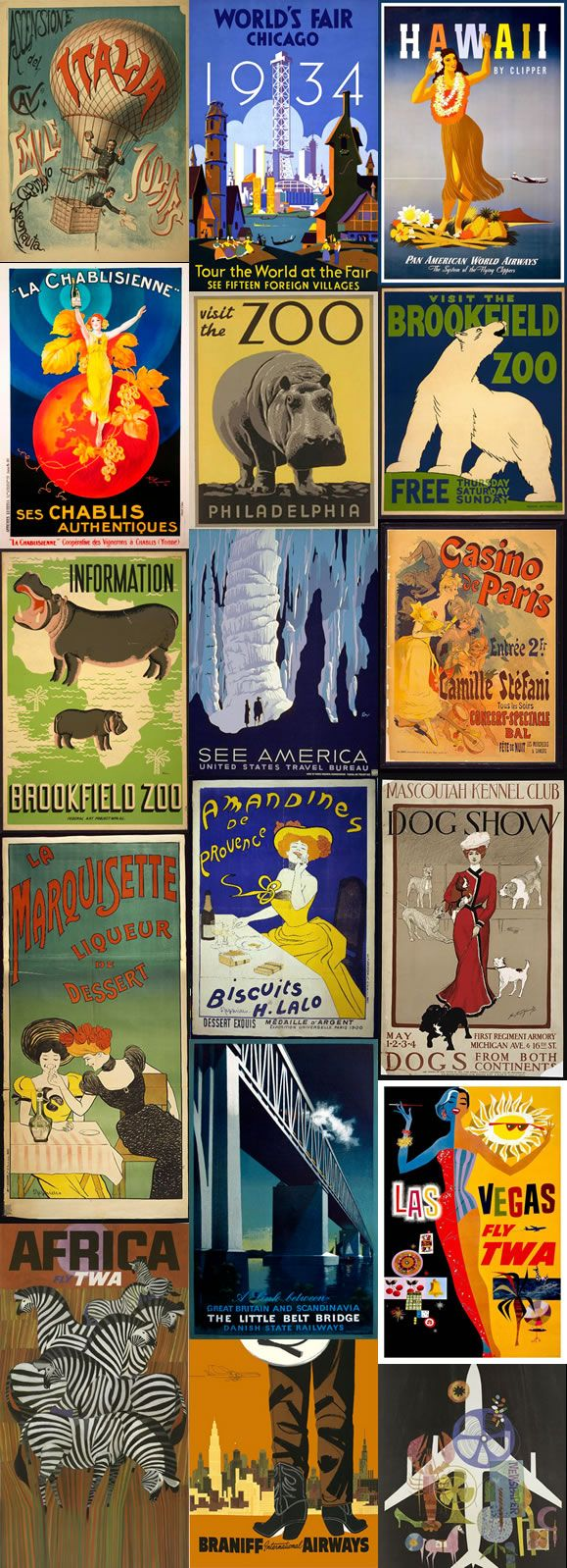 FREE Printables of Insanely Beautiful Vintage Posters That You Can Transform Into Wall Art homesthetics decor (28)