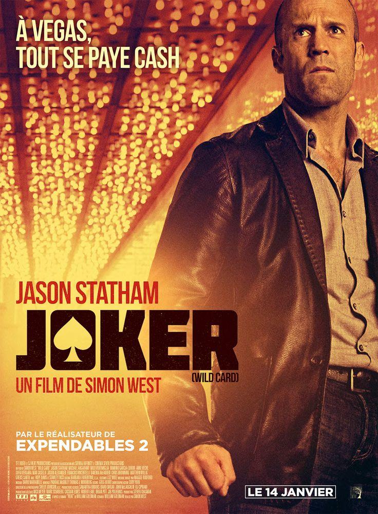 Joker est un film de Simon West avec Jason Statham, Michael Angarano. Synopsis : Nick Wild, ex-marine addict au jeu, se reconvertit dans la protection rapprochée de clients lucratifs. Il compte ainsi quitter Las Vegas pour mener un