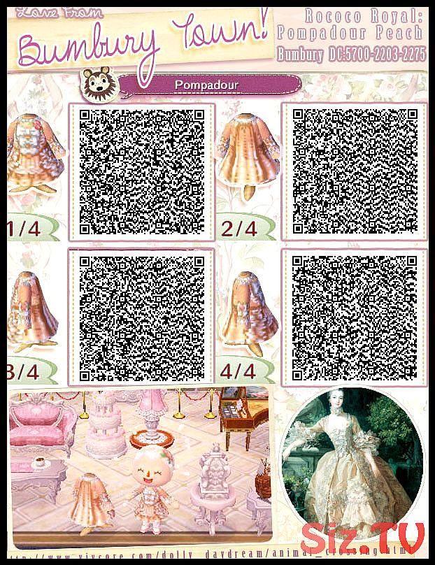 Qr Codes Fur Kleidung Animal Crossing New Leaf Acnlqrcodes