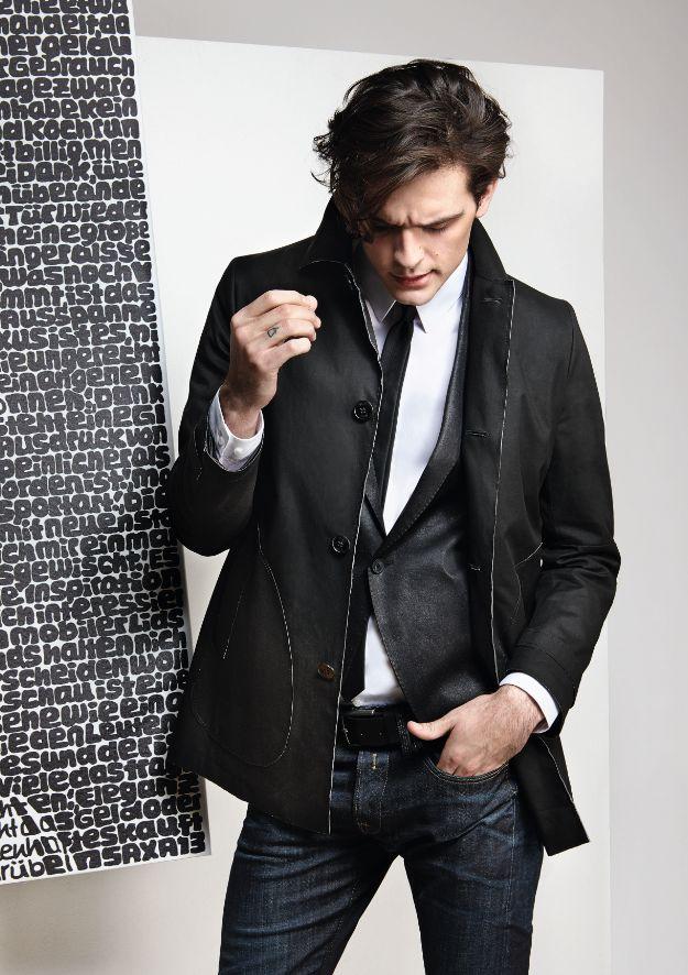 #Kunst am #Mann: #Look von #Drykorn. #Frühjahrsommer2015 #Fashion #Reischmann #menswear