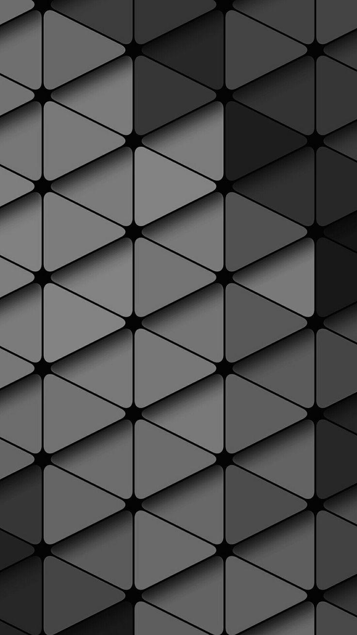 Shades of Grey Diamond Wallpaper