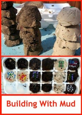Building with Mud - Making Adobe Mini-Bricks: Planets Smarty, Outdoor Activities, Smarty Pants, Adobe Minis Brick, Science Experiment, Minis Brick Stems, Stems Scienceforkid, Mud Brick, Mud Planets