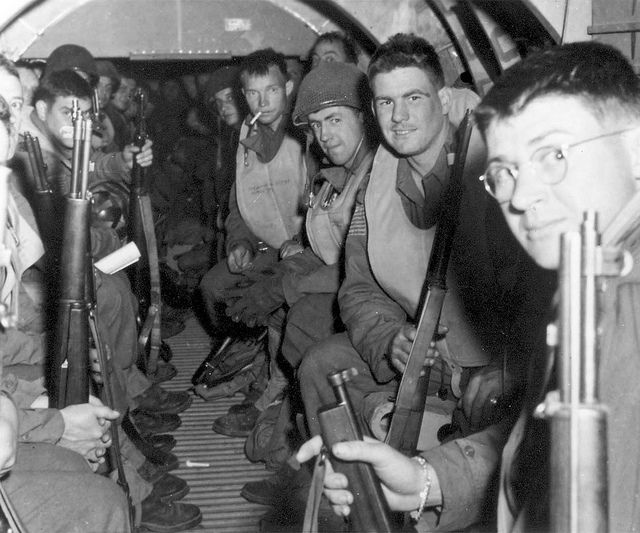 D-Day paratroopers by The National WWII Museum, via Flickr