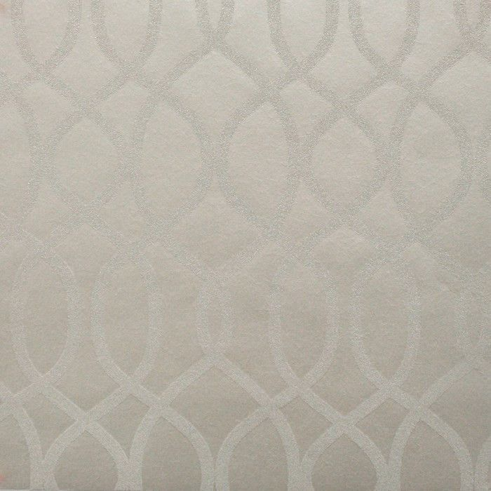 Sample Knightsbridge Bead Wallpaper in Shimmer design by Kelly Hoppen for Graham & Brown