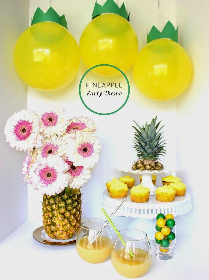 Resultado de imagem para festa infantil  abacaxi