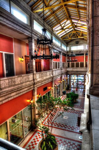 The Arcade on Main Street Columbia South Carolina