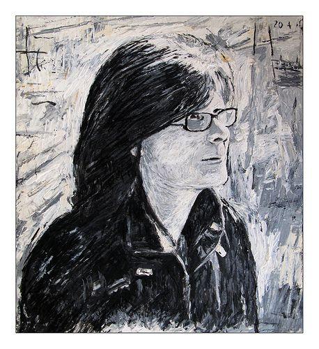 Sue Hodnett for Julia Kay's Portrait Party