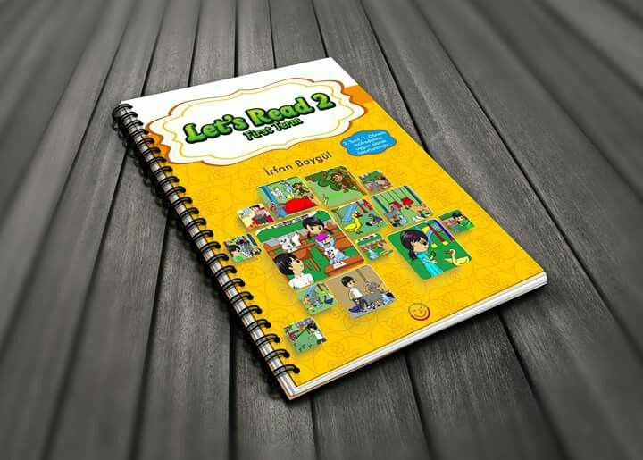 Let's Read First Term 2 kitap tasarım çalışmamız
