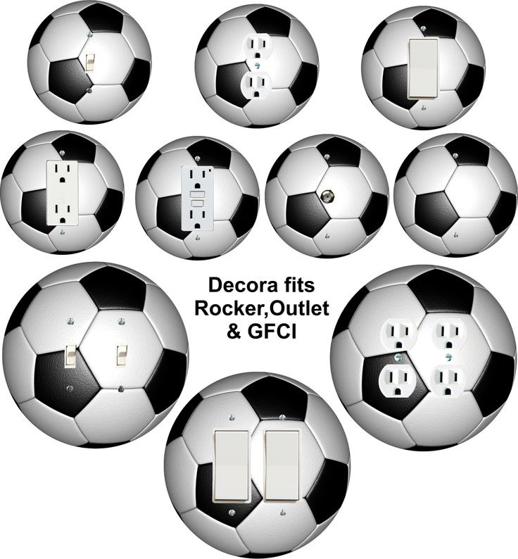 Kids Bedroom Outlet 13 best soccer shaped wall plate covers made in usa images on