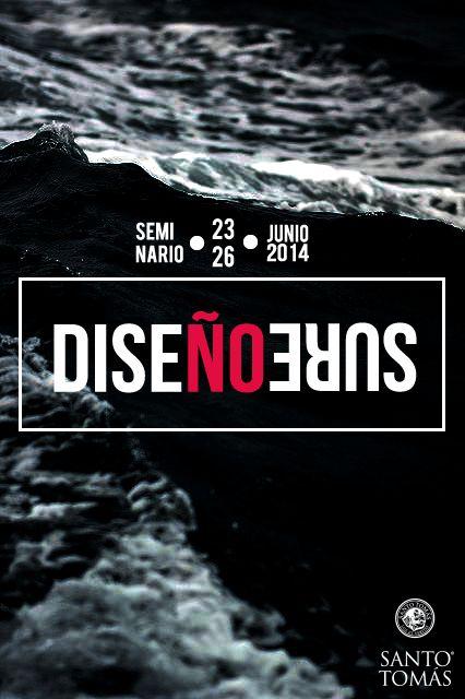 Propuesta logo y afiche 'Diseño Sureño'