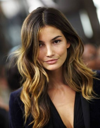 Balayage or ombre technique