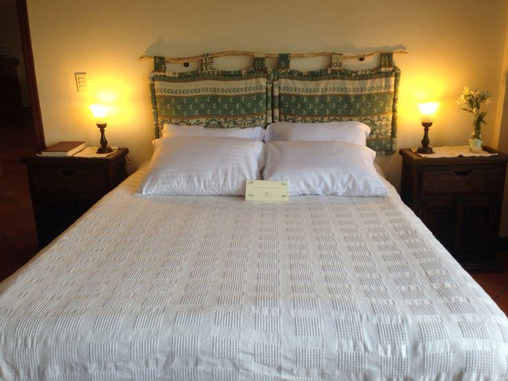 """Espaldar cama habitacion """"La Forêt"""" Para MonteMadero Casa Hotel, Cota, Cundinamarca. Por Camila Palacios."""
