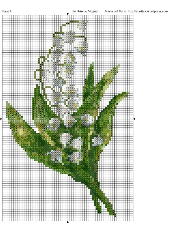 Pretty Lily of the Valley.