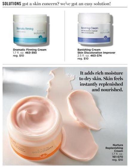 Avon Solutions Banishing Cream Skin Discoloration Improver ...