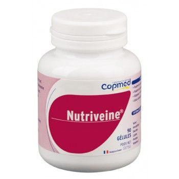 Nutriveine® Complément alimentaire à base de plantes.  Contribue à fortifier les vaisseaux sanguins et facilite la circulation veineuse, grâce au cassis.