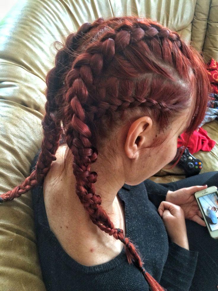 #braids#braidsbyme#braidart#redhead#longhair