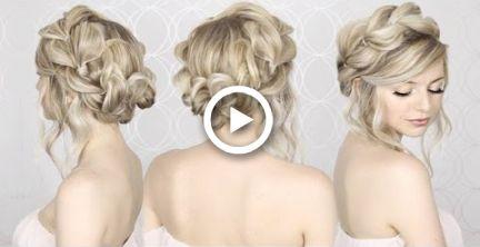 HOW TO: Pull Through Crown Braided Hair Tutorial | Summer inspired, long, medium hair