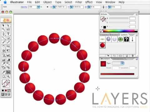 Adobe Illustrator Blend Tool - Awesome tool in combination with the Symbols Panel