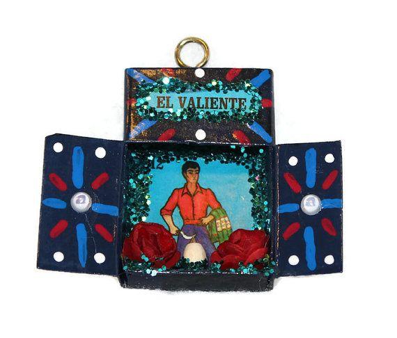 Loteria//El Valiente//Mexican Ornament//Mexican by CherryPicks