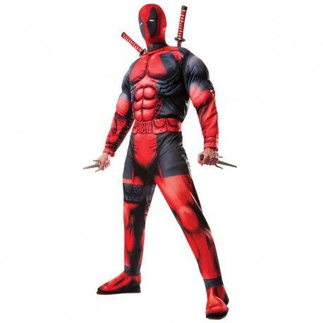 #Costume #Disfraz #Deadpool Original para Hombre superhéroe Marvel Cómics