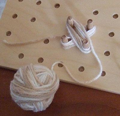 Tutorial Fiore al telaio quadrato di Clara  Chiocciolina creativa - costruisci il mondo con le tue mani