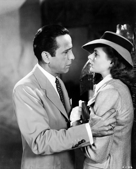 Rick Blaine and Ilsa Lund, Casablanca
