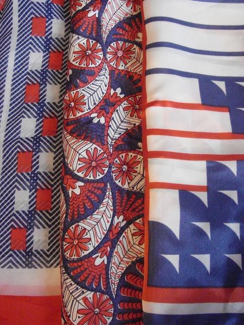 jenna's vintage scarves