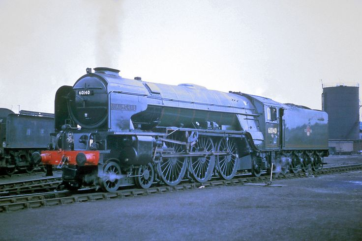 60140 'Balmoral' LNER Peppercorn Class A1 4-6-2 Photo taken by the late P. J. Hughes at Grantham in June 62
