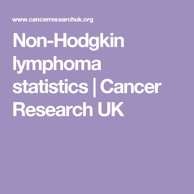 a study of non hodgkins lymphoma Hodgkin lymphoma (hl) and non-hodgkin lymphoma (nhl) are the two main categories of lymphoma hl is also called hodgkin's disease, and the two names describe only one disease—there is no such thing as a hodgkin's disease that is not a lymphoma a doctor named thomas hodgkin.