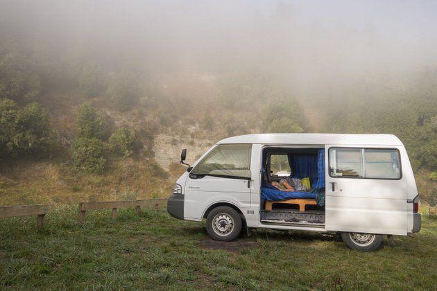 Neuseeland Campingplatz Roadtrip Freiheit