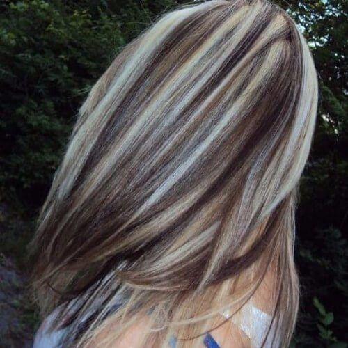 dirty blonde highlights