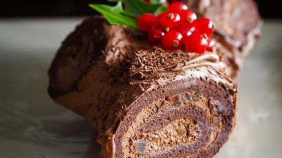 Шоколадное полено от Пьера Эрме