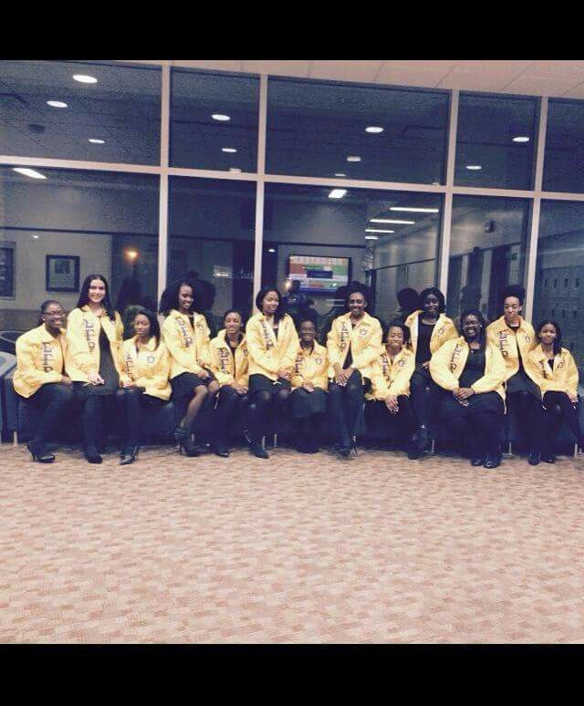 Welcome New SGRHO PRETTY POODLES -Spring 2015 Kean University!