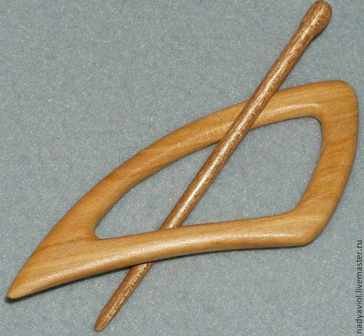 Купить заколка для шали и трикотажа - золотой, однотонный, заколка для шали, заколка для трикотажа, подарок