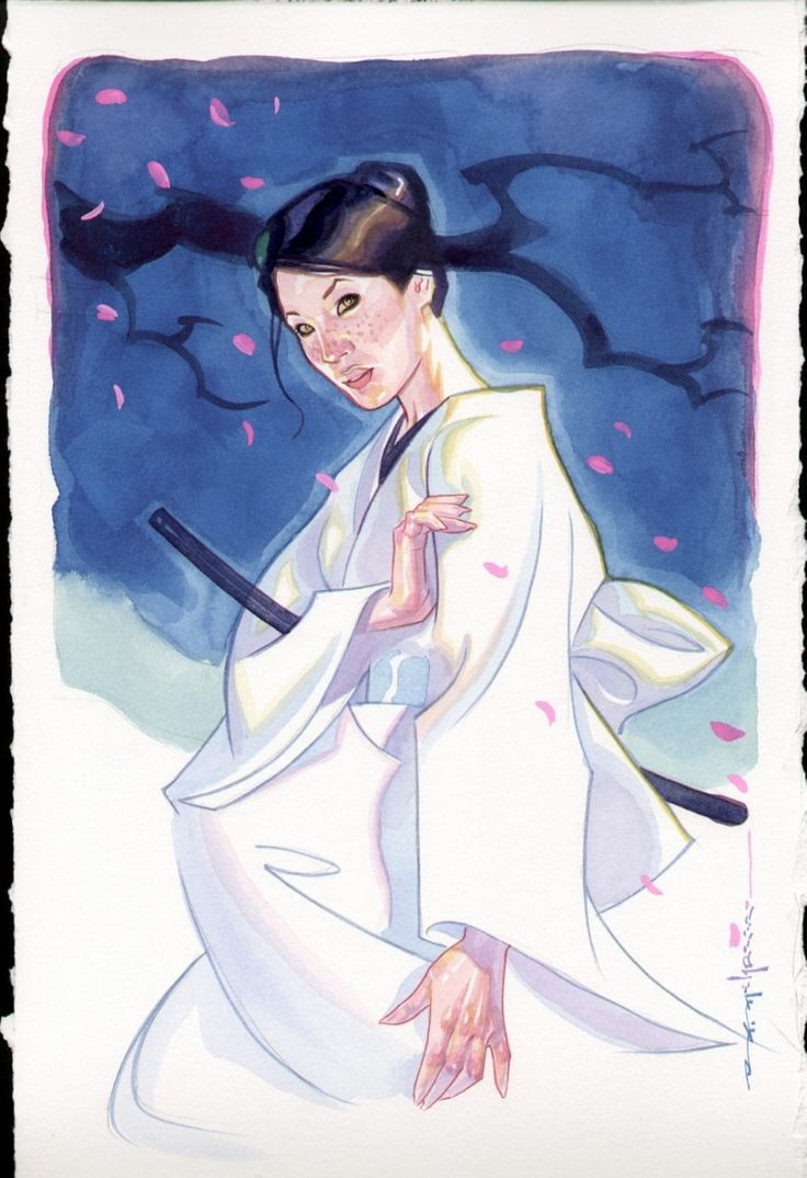 O-Ren Ishii by Brian Stelfreeze