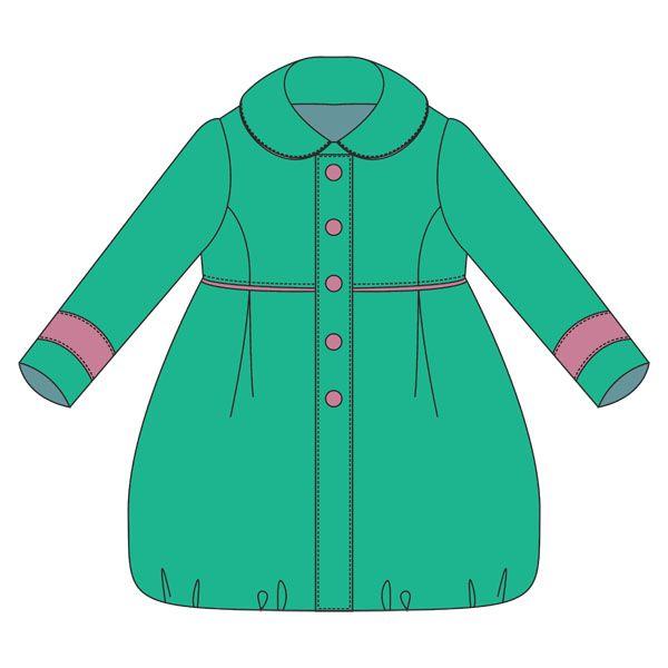 Пальто в картинках для дете