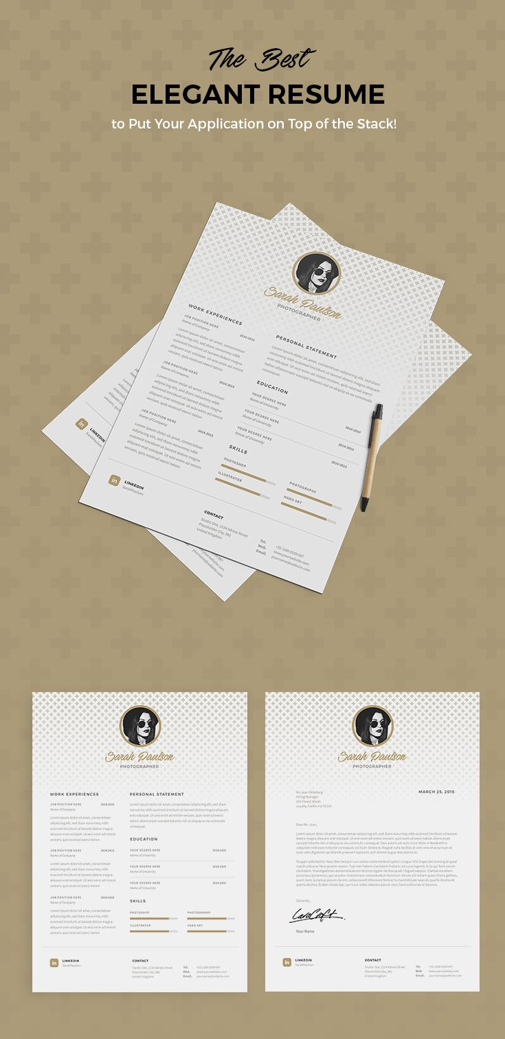 A professional resume template will help you impress more hiring managers, land more interviews, and get hired faster.